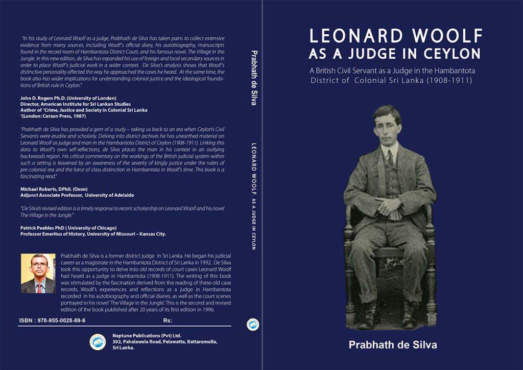 LEONARD WOOLF Cover