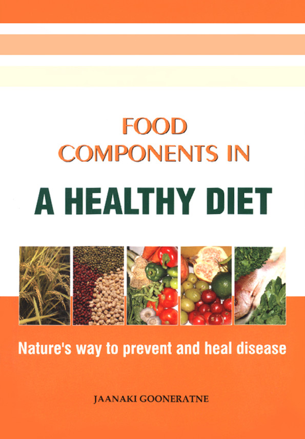 Food components in a healthy Diet