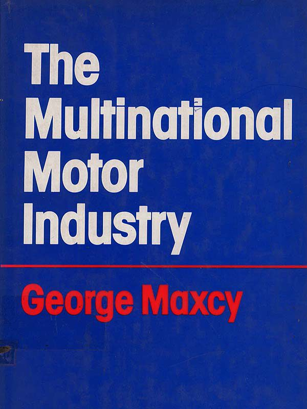 The multinational motor industry